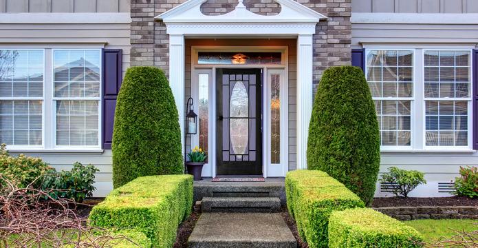 Double Door Security Doors Exterior The