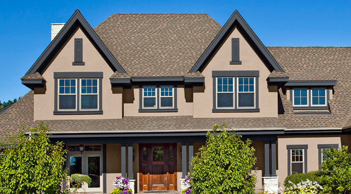 Trim branford building supplies - Rustic home exterior color schemes ...