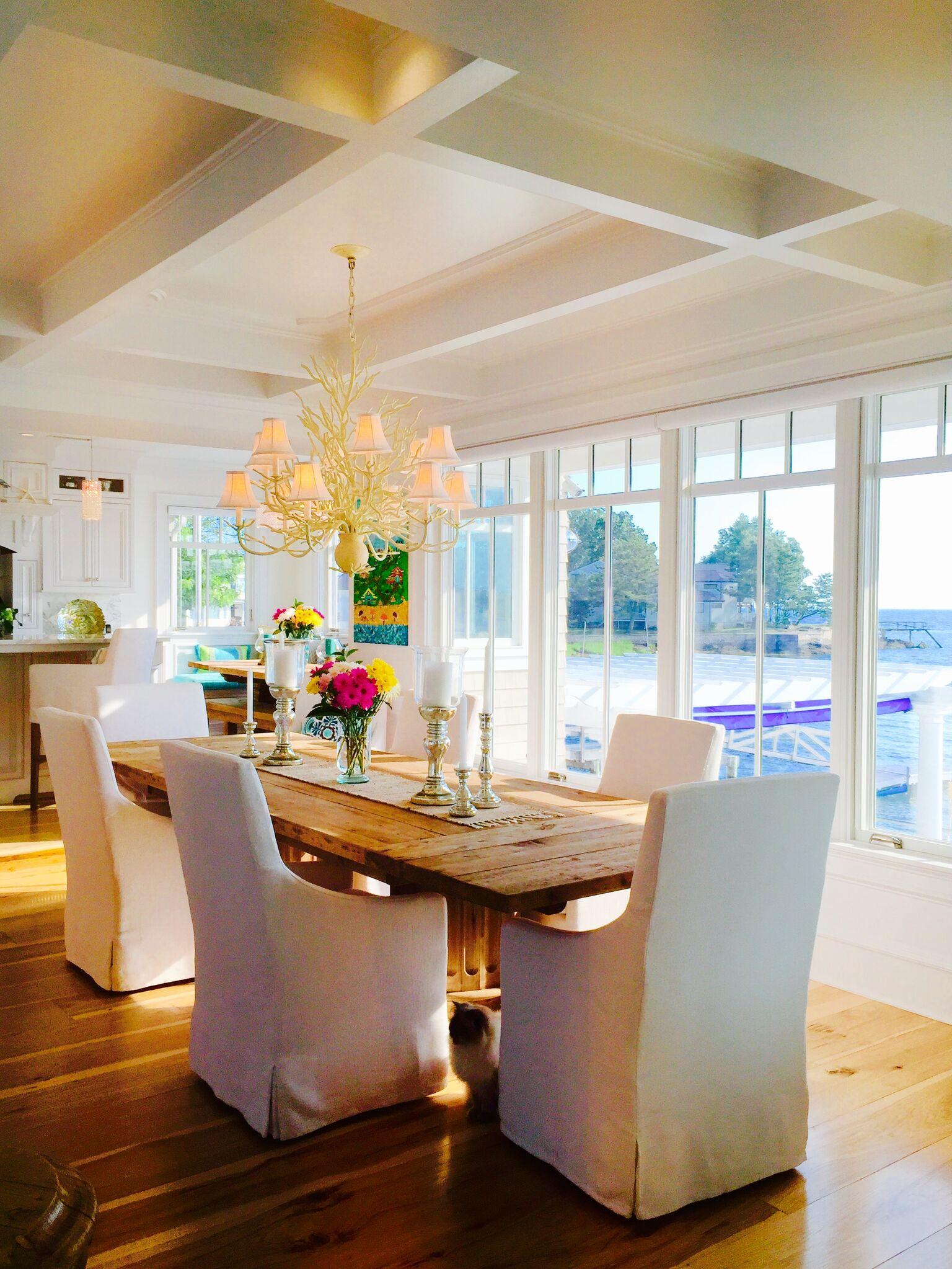 Pantani Builders Dining Room Glass Windows