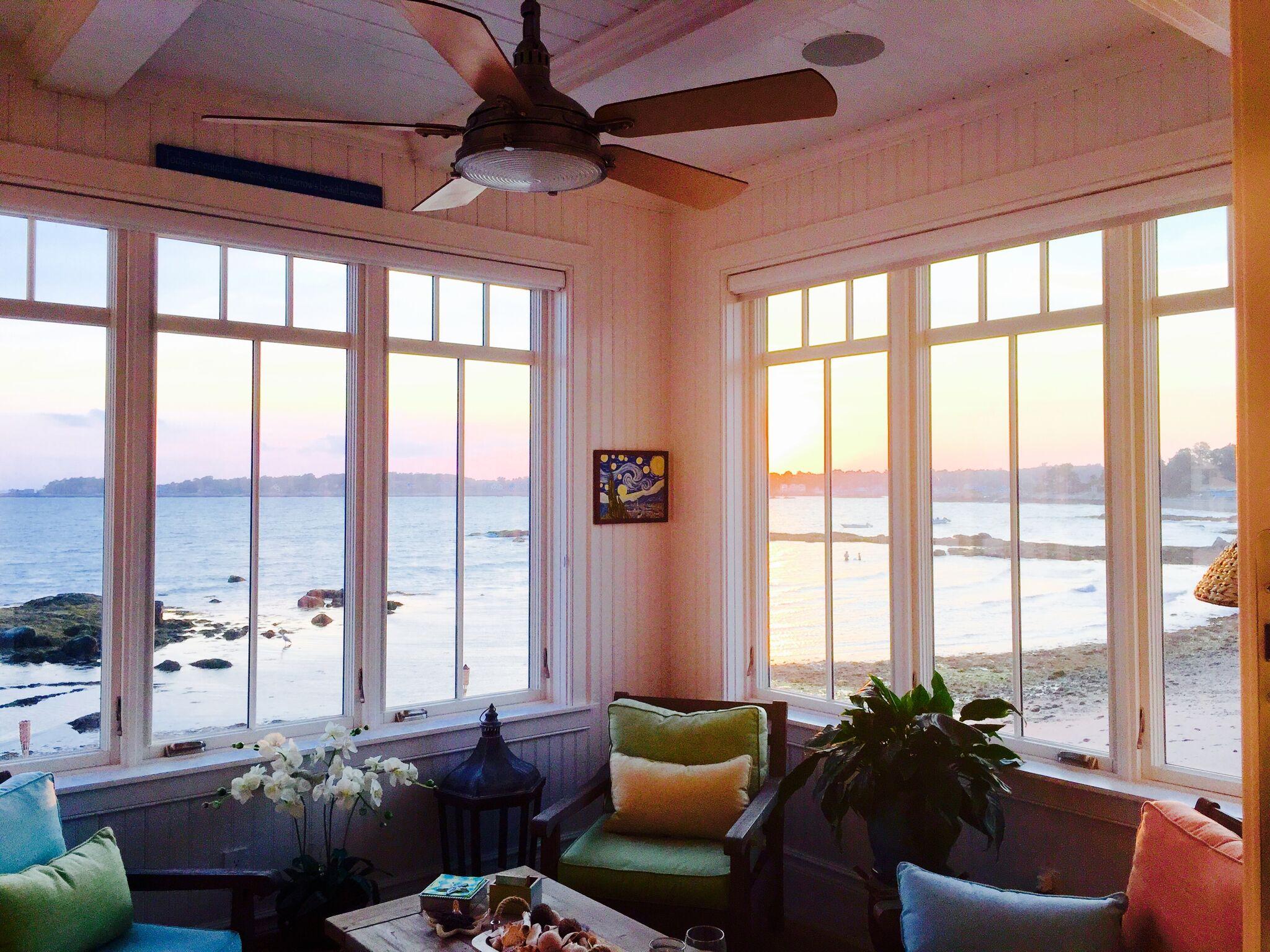 Pantani Builders Large Glass Living Room Windows